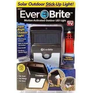 Ever Brite Solar Out door Stick Up Light