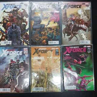 14 Marvel Comics UNCANNY X-FORCE #20 to #33