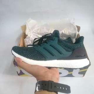 """SALE"" Adidas Ultra Boost 3.0 Dark Green"