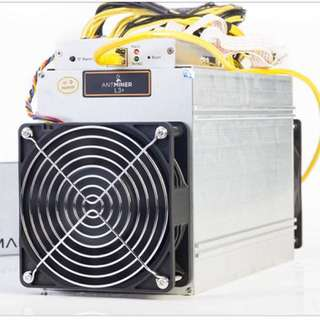 New Bitmain antminer L3+ with power supply