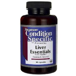 (USGMP) SWC017 Swanson Liver Essentials 護肝營養素 維護肝臟功能 排除毒素