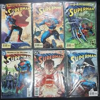 6 DC Comics SUPERMAN #204, 205 & 207 to 210