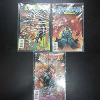 3 DC Comics DAMIAN SON OF BATMAN #1 to #3