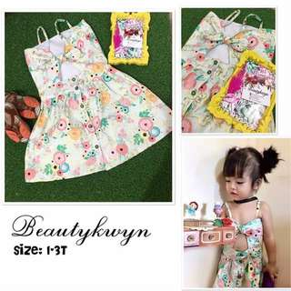 Sweetheart dress bloom for kids
