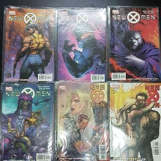 6 Marvel Comics NEW X-MEN #151 to #156