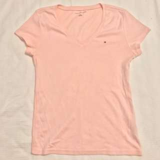 Tommy pink top