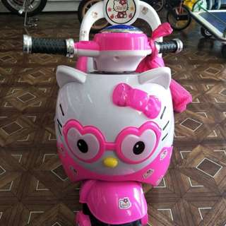 Hello kitty Motor