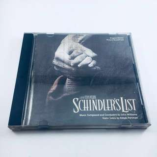 For Auction - OST Schindler's List (1993) - please read full description for auction mechanics and product description