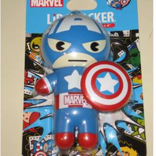 Marvel Super Hero Lip Balm - Captain America