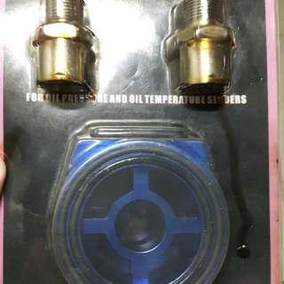 HKS Oil adapter kit