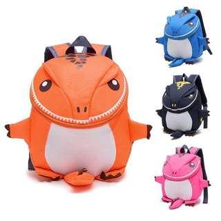 🦖Boys Kids Preschool 3D Dino Dinosaur Backpack School Bag