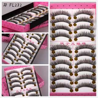 JAPANESE FAKE EYELASHES(10 PAIRS IN 1 BOX)