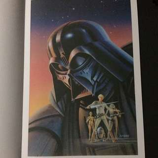 "Poster #18 From ""Star Wars A Poster Collection"""