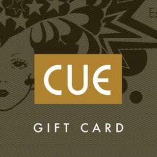 Cue gift card $525