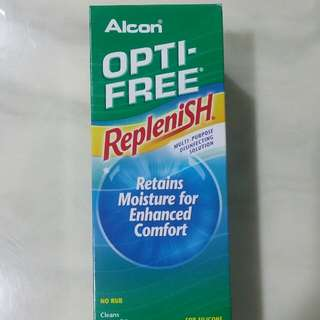 Alcon Optic Free Replenish Contact Lenses Solution