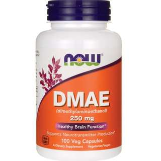 (USGMP) NWF741  NOW Foods DMAE 250mg 100粒  補腦素  好記憶