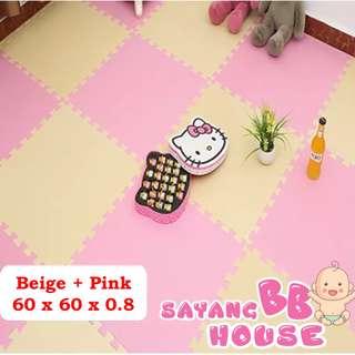 1801431 Baby Infant Large Size EVA Play mat Kids Floor Puzzle Carpet (set - 4pcs)
