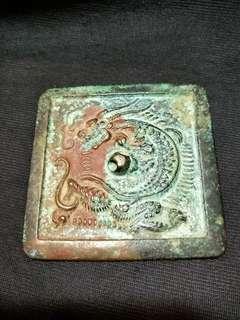 🚚 漢代青銅鏡方型