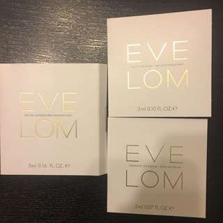 HKD50/1套3件包Eve Lom Cleanser, Mask, Lift Cream