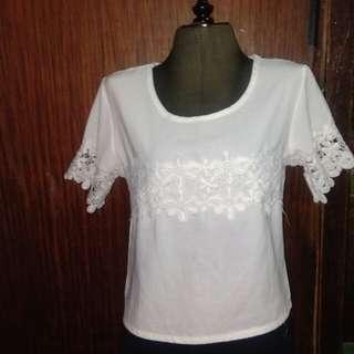 Floral design blouse