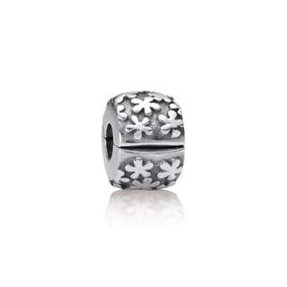 BNIB Authentic Pandora Flower Burst Clip