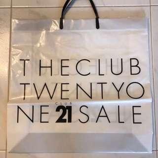 Club 21 Plastic Carrier