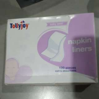 Napkin liners