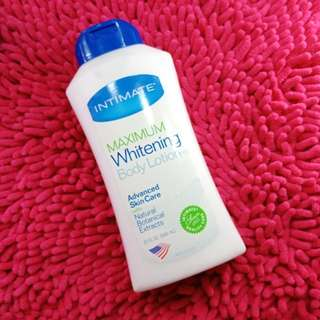 Imported whitening lotion
