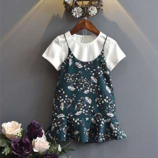 PRE ORDER 2 pcs Floral dress