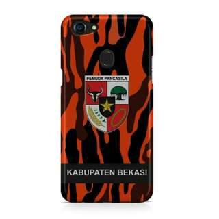 Pemuda Pancasila Your Text Oppo F5 Custom Hard Case