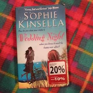 Wedding Night ~ Sophie Kinsella