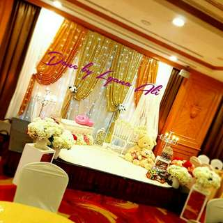 Baby Shower / Baby Shower Deco / Mini Dais / Mini Pelamin / ROM / Pelamin / Wedding Deco / Backdrop / Engagement