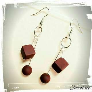 Last Pcs !!! Anting Chocolate