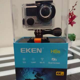 Eken H6S Native 4K Action Camera FREE 2 Extra Battery