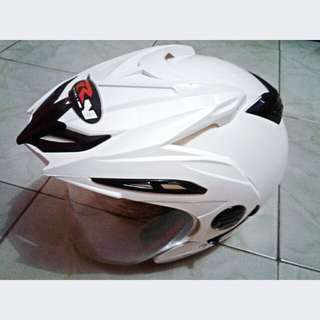 Helm RN Abs Original Double Visor