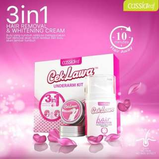 3 In 1 Hair Remover & Underarm Whitening Kit