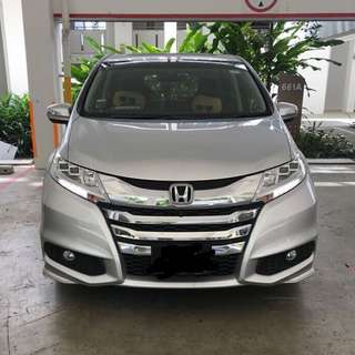 Honda Odyssey MPV 6 seater Airport Transfer service.