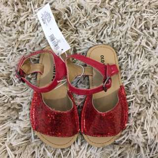 Brand New Old Navy Red Sandals