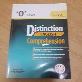 O level distinctiin in english comprehension