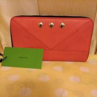 Kenzo zip around wallet