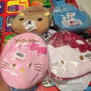 Plush toy bags