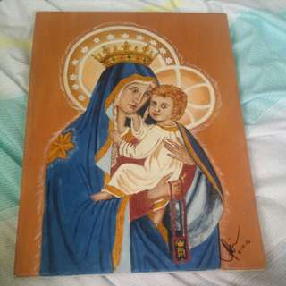Our Lady of Mount Carmel painting