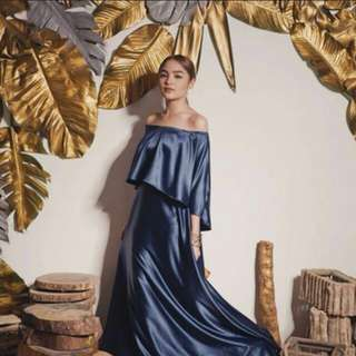 Long Gown - Apartment 8 silky blue