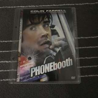 Phonebooth Movie DVD