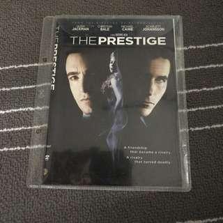 The Prestige Movie DVD