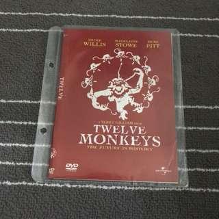 12 Monkeys Movie DVD