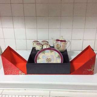 Wedding Tea Set (Make in Japan) New
