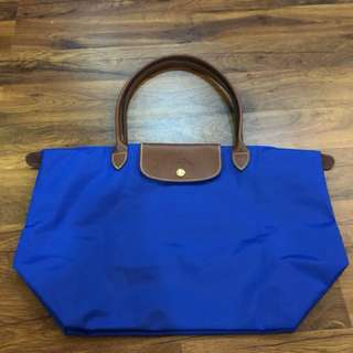 Authentic Longchamp medium long handle