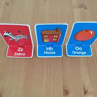 Alphabet Match Cards Set