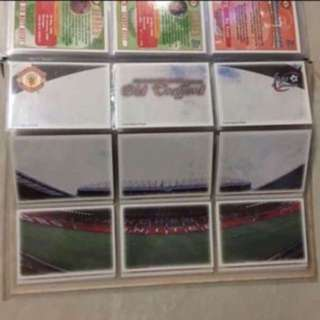 Authentic Manchester United card collection